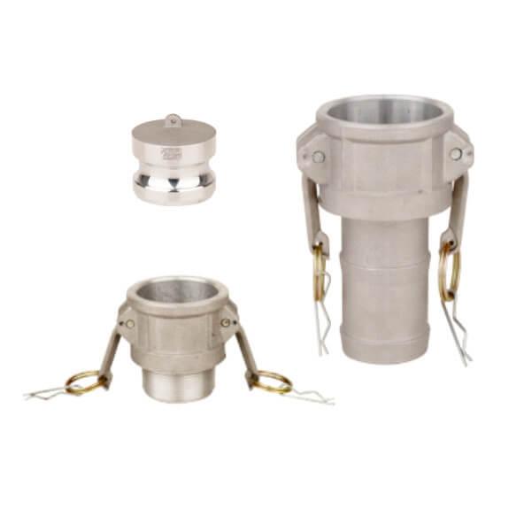 Conectores Camlock - Aluminio