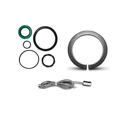 Componentes para actuadores ISO 15552/6431