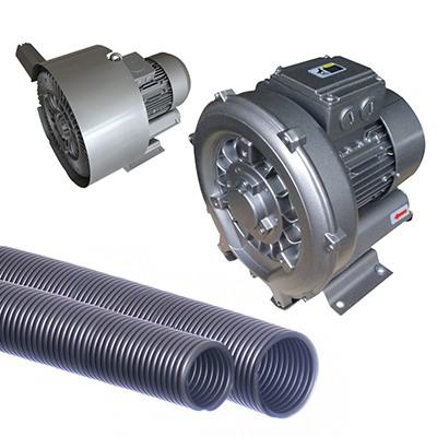 Ventiladores de bomba laterales y de canal lateral
