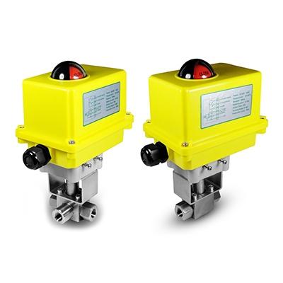 Válvulas con actuador eléctrico