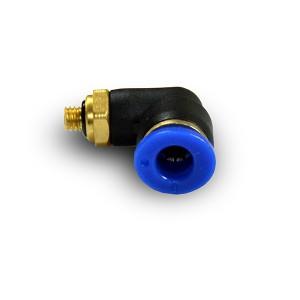 Enchufe angular de la manguera de la boquilla 6mm rosca M5 PL06-M05