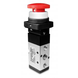 Válvula manual 5/2 MV522EB actuadores de 1/4 pulgada