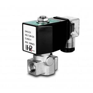 Válvula solenoide de alta presión HP15-M acero inoxidable SS304 110bar
