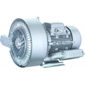 Ventilador de canal lateral, bomba de aire Vortex, turbina, bomba de vacío con dos rotores SC2-5500 5,5KW