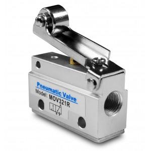 Válvula manual 3/2 actuadores MOV321R 1/8 pulgada