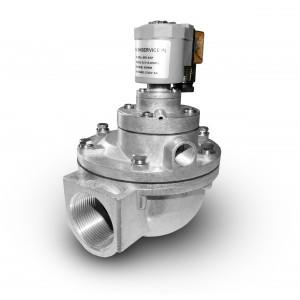 Válvula solenoide de pulso para limpieza de filtro 1 1/2 pulgada MV45T