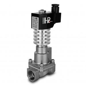 Válvula solenoide a vapor y alta temperatura RHT20-SS DN20 300C 3/4 pulgadas