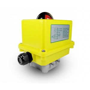 Actuador eléctrico de la válvula de bola A250 230V AC 25Nm