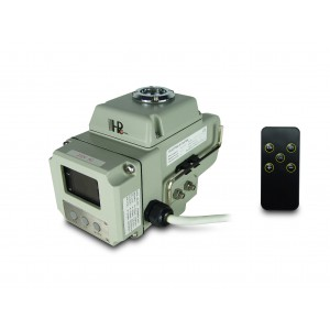Válvula de bola actuador eléctrico A1600 230V AC 160Nm control 4-20mA