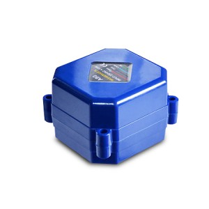 Actuador eléctrico de la válvula de bola A80 ECO 230V AC 3 hilos