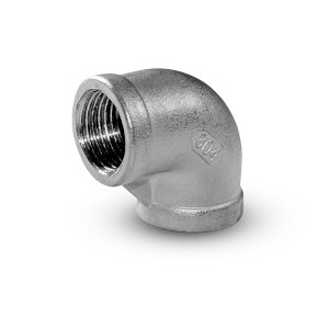 Hilo interno de la rodilla de acero inoxidable de 1/2 pulgada