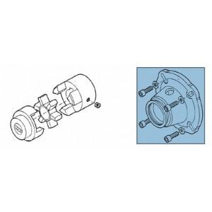 Embrague + adaptador para kit de bomba RO