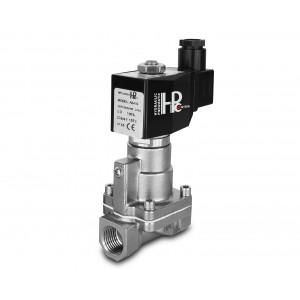 Válvula solenoide a vapor y alta temperatura RH15-SS DN15 200C 1/2 pulgada de acero inoxidable SS304