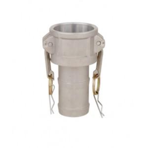 Conector Camlock - Tipo C 1 1/4 pulgada DN32 Aluminio