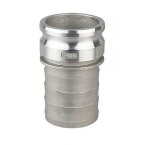 Conector Camlock - Tipo E 1 1/4 pulgada DN32 Aluminio