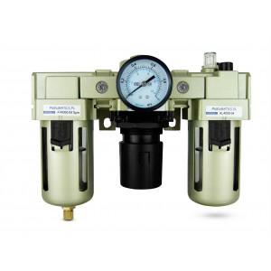 Filtro deshidratador regulador lubricador FRL 1/2 pulgada en aire AC4000-04