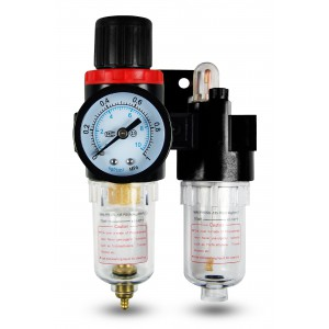 El lubricador regulador del deshidratador del filtro FRL 1/4 pulgada fijó al aire AFC2000