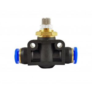 Manguera de válvula de estrangulación del regulador de flujo de precisión 8mm LSA08
