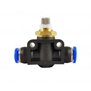 Manguera de válvula de estrangulación del regulador de flujo de precisión 6mm LSA06