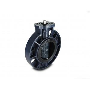 Válvula de mariposa, acelerador UPVC DN150