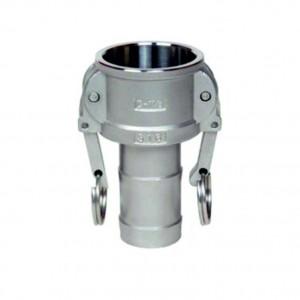 Conector Camlock - tipo C 1/2 pulgada DN15 SS316