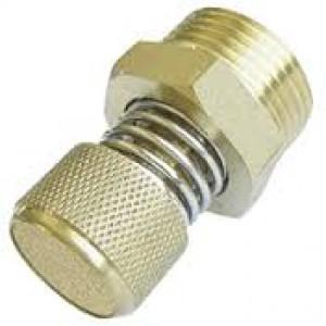 Silenciador de escape de aire con regulador de caudal BESLD 1/2 pulgada