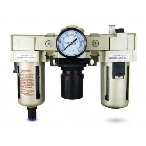 El lubricador regulador del deshidratador del filtro FRL 3/4 pulgadas se puso al aire AC4000-06D