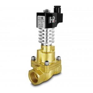 Válvula solenoide a vapor y alta temperatura RHT25 DN25 300C 1 pulgada