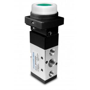 Válvula manual 5/2 MV522PP actuadores de 1/4 pulgada