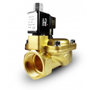 La válvula solenoide 2K40 abre NO 1 1/2 pulgada 230V o 12V 24V