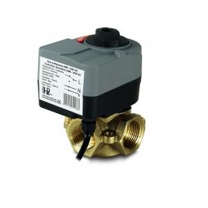 Válvula mezcladora 3 vías 1 pulgada con actuador eléctrico AM8