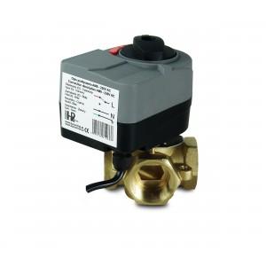 Válvula mezcladora 4 vías 1 pulgada con actuador eléctrico AM8