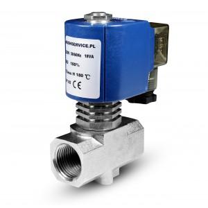Válvula solenoide para vapor RV15 1/2 pulgada 180C