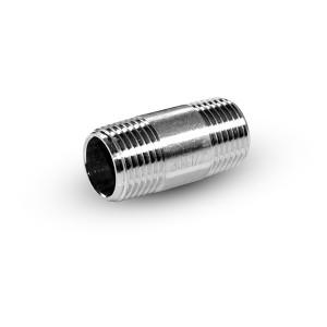 Tetina de acero inoxidable 1/4 pulgada 38 mm
