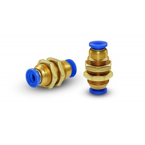 Manguera de conector de mamparo de 10 mm de rosca M20 PM10
