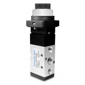 Válvula manual 5/2 MV522TB actuadores de 1/4 pulgadas