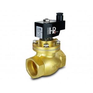 Válvula solenoide a vapor y alta temperatura abra LH50-NO DN50 200C 2 pulgadas