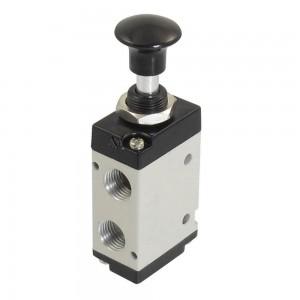 Válvula manual presionada 5/2 4L210 1/4 pulgada para actuadores