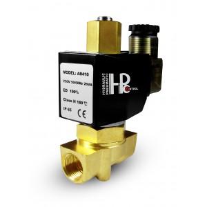 Válvula solenoide abierta 2N10 NO 3/8 pulgada 0-10 bar 230V 24V 12V 42V 110V