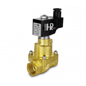 Válvula solenoide a vapor y alta temperatura abra RH25-NO DN25 200C 1 pulgada