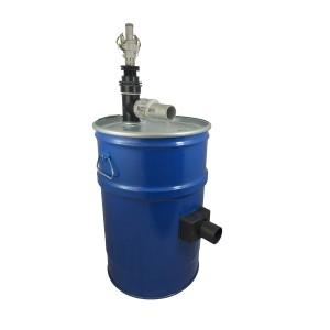 Aspirador tanque 60l con limpieza de filtro de aire comprimido