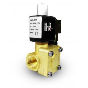 La válvula de solenoide 2K25 abre NO 1 pulgada 230V o 12V 24V