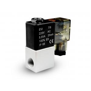 Válvula solenoide al aire y co2 2V08 1/4 230V 24V 12V