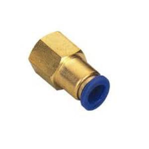 Enchufe de la manguera de pezón 6 mm de rosca interna 1/4 de pulgada PCF06-G02