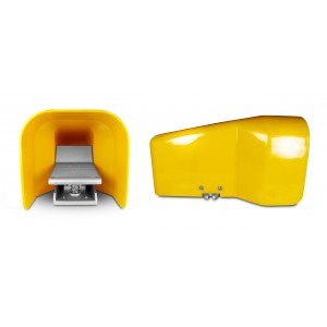 Válvula de pie, pedal de aire 5/2 1/4 para cilindro 4F210LG - biestable con tapa