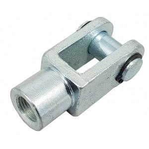 Cabezal de articulación Y M6 actuador 16 mm ISO 6432