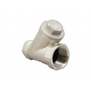 Válvula de bola de acero inoxidable DN15 1/2 pulgada placa de montaje ISO5211