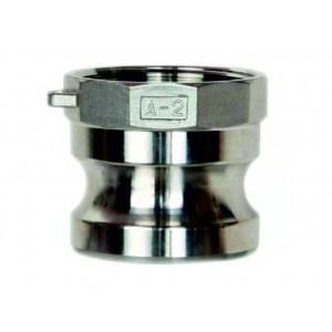 Conector Camlock - tipo A 1 1/2 pulgadas DN40 SS316