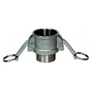 Conector Camlock - tipo B 1 1/2 pulgadas DN40 SS316